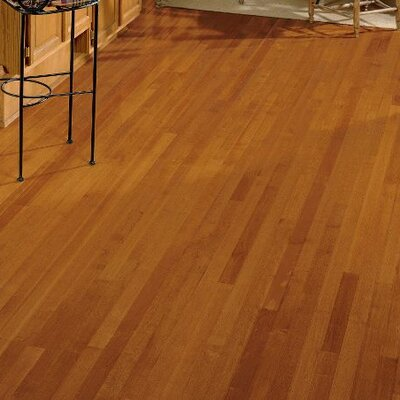 2-1/4 Solid Maple Hardwood Flooring in Cinnamon