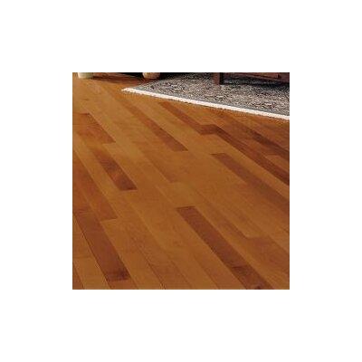Kennedale Prestige Plank 3-1/4 Solid Maple Hardwood Flooring in Semi Gloss Cinnamon