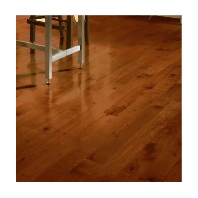 4 Solid Maple Hardwood Flooring in Cherry