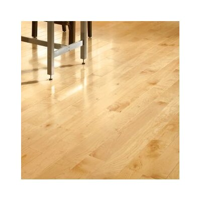 5 Solid Maple Hardwood Flooring in Natural