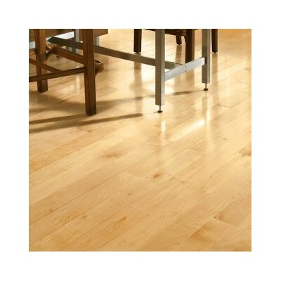 4 Solid Maple Hardwood Flooring in Natural