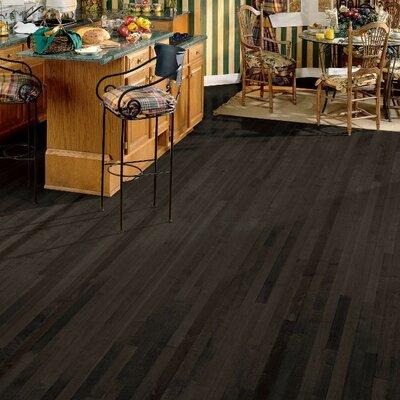 2-1/4 Solid Maple Hardwood Flooring in Midnight