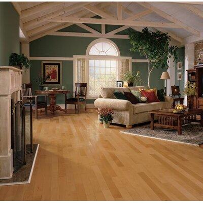 Kennedale Prestige Plank 3-1/4 Solid Light Maple Hardwood Flooring in Caramel