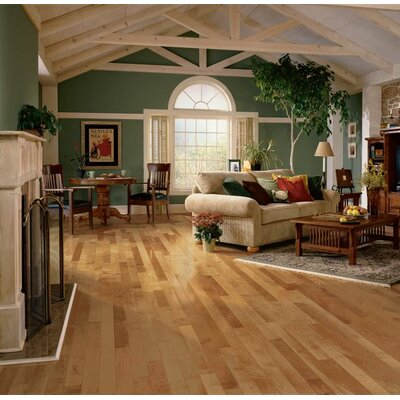 3-1/4 Solid Maple Hardwood Flooring in Toasted Almond