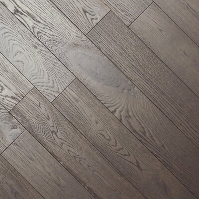 Keston 5.88 Oak Hardwood Flooring in Brown