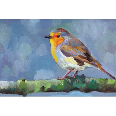 Bird Profile Canvas Giclee Print, Artfully Walls Size: 6 H x 9 W