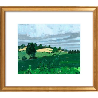 Mansion Hill Framed Giclee Print, Artfully Walls Size: 18 H x 21 W