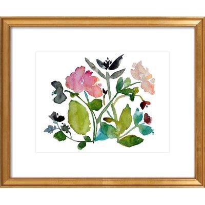 Nouveau Boheme Framed Giclee Print, Artfully Walls Size: 12 H x 14 W
