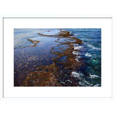 Sdot Yam Beach Framed Giclee Print, Artfully Walls Size: 18 H x 24 W