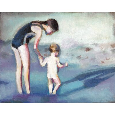 Sea Canvas Giclee Print, Artfully Walls Size: 16 H x 20 W