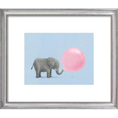 Jumbo Bubble Gum Framed Giclee Print, Artfully Walls