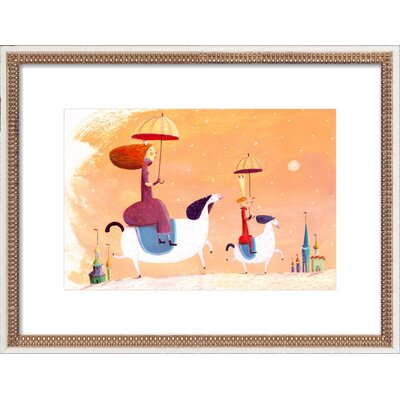 King & Queen Framed Giclee Print, Artfully Walls