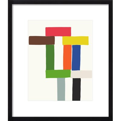 Block Tower Art Print, Artfully Walls Size: 21 H x 18 W