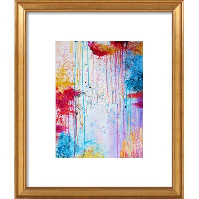 Happy Tears Art Print, Artfully Walls Size: 18 H x 15 W