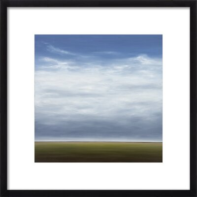 Modern Landscape II Framed Giclee Print, Artfully Walls Size: 20 H x 20 W