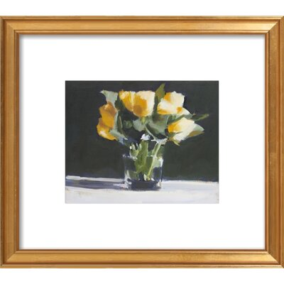 Yellow Roses Framed Print, Artfully Walls