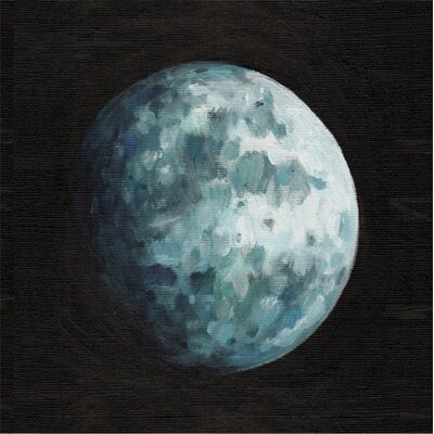 Moon Canvas Print, Artfully Walls