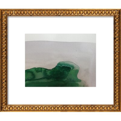Lands 7 Framed Giclee Print, Artfully Walls