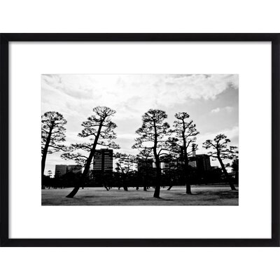 Urban Trees Framed Giclee Print, Artfully Walls Size: 12 H x 15 W