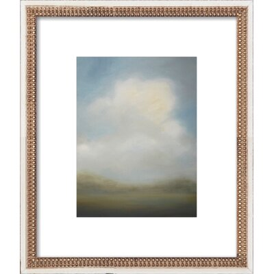 Misted Morning Framed Giclee Print, Artfully Walls Size: 14 H x 12 W