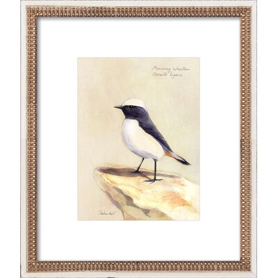 Mourning Wheater Framed Giclee Print, Artfully Walls Size: 14 H x 12 W