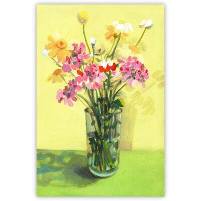 Sunshine Canvas Giclee Print, Artfully Walls Size: 12 H x 8 W x 1.5 D