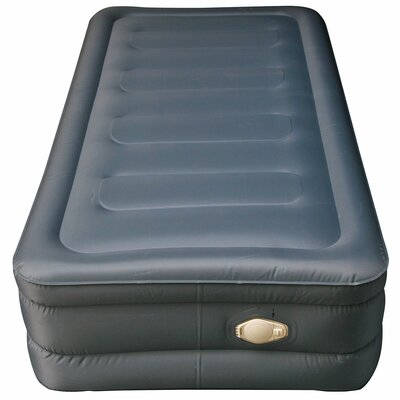 Lustrous Air Mattress with 3/4 Memory Foam Mattress Topper Size: Twin