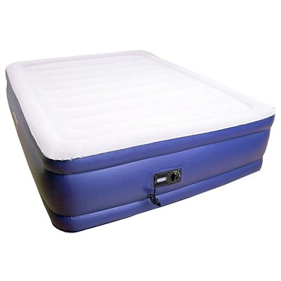 Keystone Deluxe 20 Raised Air Mattress with Built In Pump Size: Full