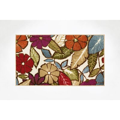 Flowers Area Rug Rug Size: Rectangle 16 x 26