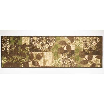 Leaves Area Rug Rug Size: Runner 18 x 5