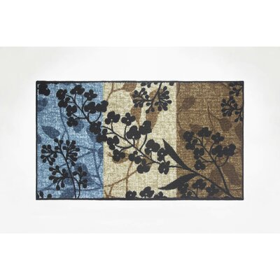 Tulips Area Rug Rug Size: Rectangle 16 x 26