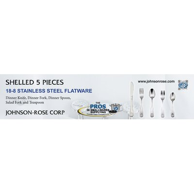 Johnson Rose Corp Shelled 5 Piece 18 Stainless Steel Flatware Set at Sears.com
