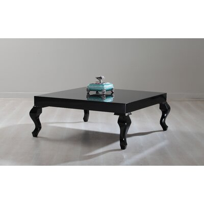 Lukens Coffee Table Color: Black