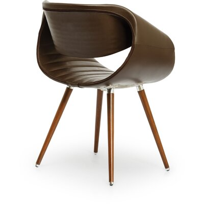 Free Circular Arm Chair Color: Chocolate 1140
