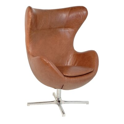 Muna Balloon Chair Upholstery: Walnut