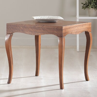 Victor End Table Finish: Walnut