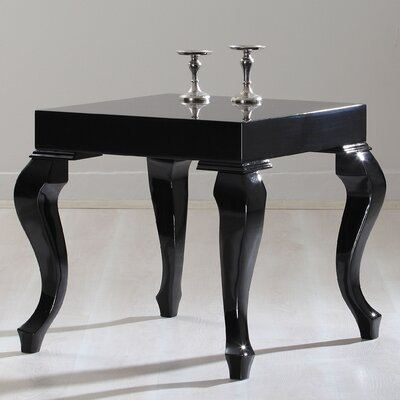 Lukens End Table Color: Black Lacquer