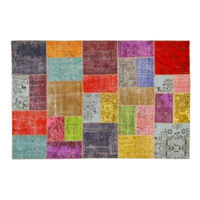 Usak Patchwork Handmade Multicolor Area Rug