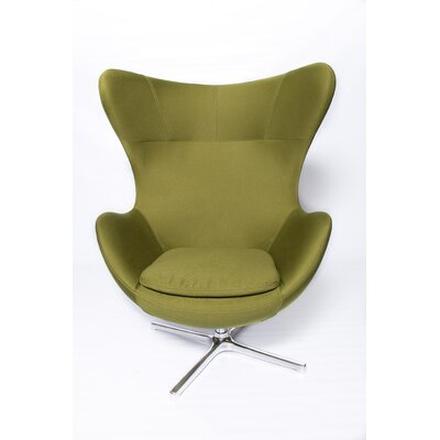 Muna Armchair Finish: Green