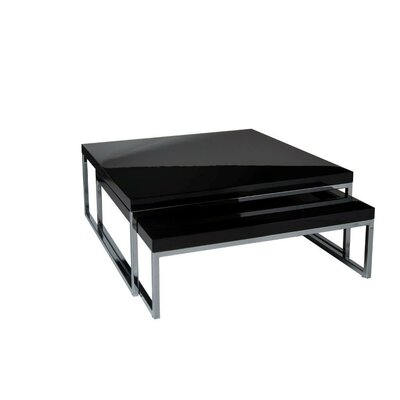 Tweens Coffee Table Color: Black Lacquer