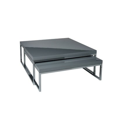 Tweens Coffee Table Color: Grey Lacquer