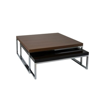 Tweens Coffee Table Finish: Walnut-Black Finish