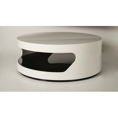 Ball Coffee Table Finish: White / Black
