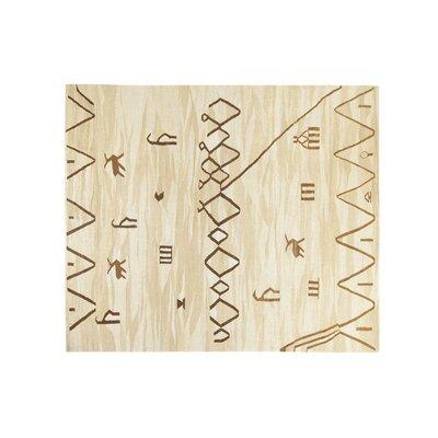 Hand-Kilim Beige/Brown Area Rug