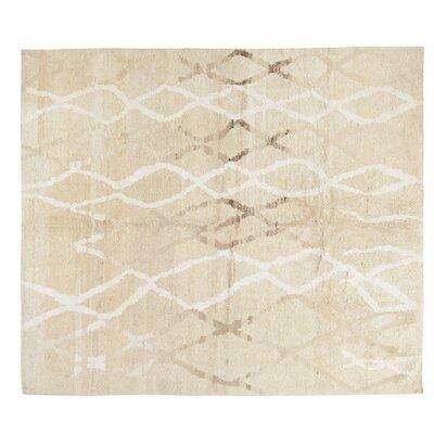 Kilim Hand-Woven Beige/Cream Area Rug