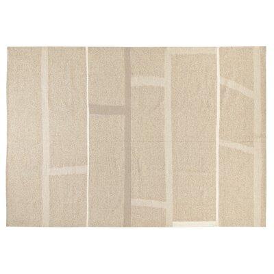 Kilim Hand-Woven Cream Area Rug