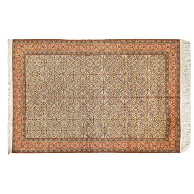 Kayseri Hand-Knotted Cream Area Rug