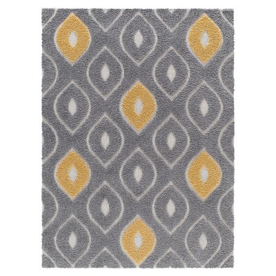 Artz Gray/Yellow Area Rug