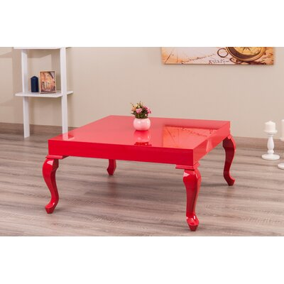 Lukens Coffee Table Color: Red