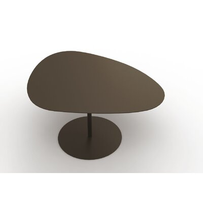 Low Coffee Table Material: Steel, Finish: White